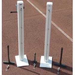 Poteaux de tennis avec platine