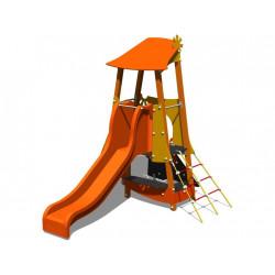 Structure de jeu toboggan pour enfants