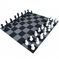 Kit jeu d'échecs géant - Hexdalle®