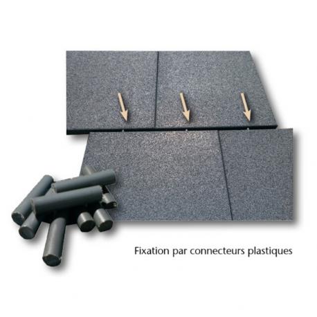 Fixation connecteurs + perçage - 4 trous