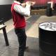Blocs de caoutchouc pour le tir - Hexbloc®