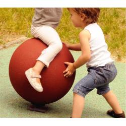 Boule rotative en caoutchouc - Hexdalle® BOULE 430 ROTATIVE