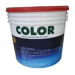 Peintures sols color?es - Rouge
