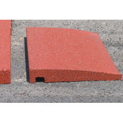 Bordure Chanfrein?e Hexdalle 90 ? 10 mm - Rouge