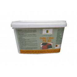 Colle polyuréthanne gel monocomposant PU 93 pour dalles amortissantes en caoutchouc